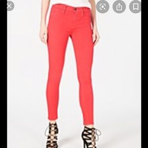 Joes jeans mid rise skinny ankle